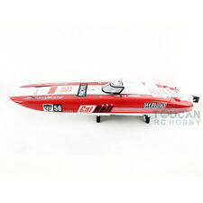 "51"" G30E Fiber Glass Gas RC Racing Speed Boat 30CC Engine ARTR 43.5Mph ARTR"