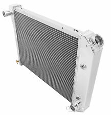 Champion 2 Row All Aluminum Radiator For 1964 - 88 Chevy/Buick Cars