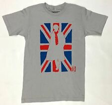 BBC Sherlock BRITISH FLAG UNION JACK SILHOUETTE T-Shirt NWT Licensed & Official