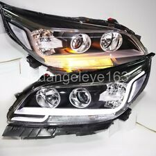 For CHEVROLET Malibu LED Headlights Bi Xenon Projector Lens 2012 to 2014 Year LD