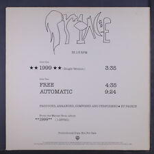 PRINCE: 1999 (single Version) / Free / Automatic 12 (dj, custom cover) Soul