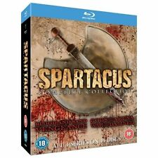 Spartacus - Complete Collection (Blu-ray, 2013, 16-Disc Set)