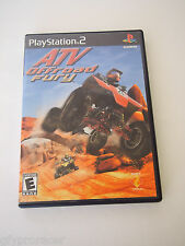 ATV OFF-ROAD FURY GREATEST HITS FOR PS2