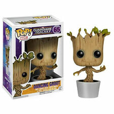 DANCING GROOT BOBBLE-HEAD ( GUARDIANS OF THE GALAXY ) MARVEL COLLECTABLE FIGURE
