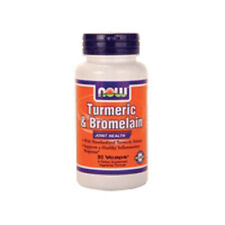 Tumeric & Bromelain 90 Vcaps by Now Foods