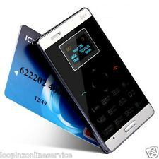World's Ultra Slim Credit Card Size & Smallest GSM touch Mobile Phone!!! AIEK M3