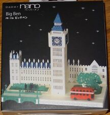 Big Ben Paper Nano 3D Laser Cut Intricate detail paper model  PN-116 Kawada