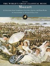 Il MONDO DEL GRANDE MUSICA CLASSICA Mozart intermedio PIANOFORTE Riproduci musica libro