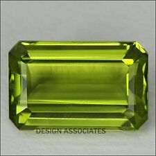 7X5 MM Emerald Cut Peridot All Natural Without Treatment
