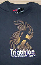 TRIATHLON / OLYMPIC SPORT SINCE 2000 / 2008 BEIJING / GRAY T-SHIRT SIZE XXXL