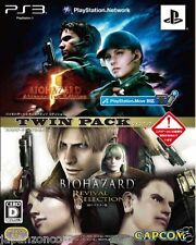 Used PS3 BIOHAZARD TWIN PACK HD SONY PLAYSTATION 3 JAPAN JAPANESE IMPORT