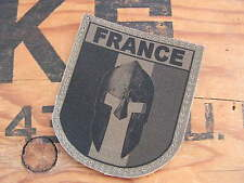 Patch velcro OPEX FRANCE SPARTAN - croisade MALI CASQUE templier COS OD BV