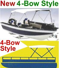 "NEW 4 BOW BOAT BIMINI CONVERTIBLE TOP COVER,PONTOON 78""-86"" FOLDING FRAME"