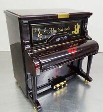 vintage 50s 60s - Schmuck Schatulle Klavier Kästchen Piano Schmuckkästchen ~60er
