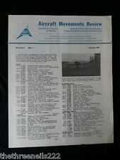 AIR BRITAIN AIRCRAFT MOVEMENTS REVIEW - JAN 1961 VOL 3 #1 - BEECH MODEL 65 QUEEN