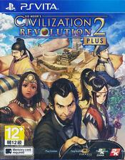 Sid Meier's Civilization Revolution 2 Plus 2+ PS Vita Game Exclusive Physical