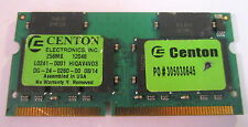 1 x 256MB PC-100 memory RAM SODIMM for Dell Inspiron 3700 3800 7500 8000