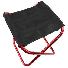 Folding Aluminum Chair Outdoor Stool Seat Fishing Camping Travel Picnic Portable