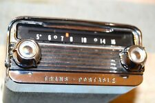 OLDSMOBILE OLDS 989131 TRANS-PORTABLE AM RADIO 1958 58 PRO SERVICED VERY CLEAN
