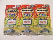 Matchbox Across America Massachusetts 1962 Volkswagen Beetle lot of 3