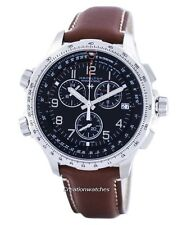 Hamilton Khaki Aviation X-Wind Chronograph GMT Swiss Made H77912535 Men's Watch