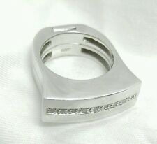 GUESS COLLECTION  Ring 8 Sterling Silver 925 -  2 pieces band