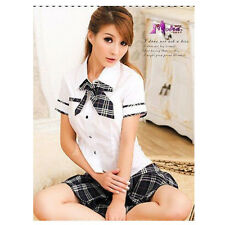 Japanese High School Girl Cosplay Dress Uniform Women Adult Costume Full Outfit