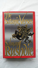 The Satanic Verses Book by Salman Rushdie Hardcover w/ Dust Jacket