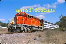 OS WISCONSIN GREAT NORTHERN RAILROAD SD40-2 6006 LP LOADS HJAYWARD WI 2015