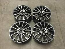 "19"" C63 Twist AMG Style Wheels - Gun Metal Machined - Mercedes C Class W204 W205"