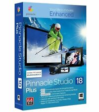Pinnacle Studio 18 Plus HD/3D Video Editing Sealed Box