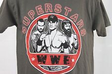 New WWE Superstars T Shirt Top  Wrestling Fan Cena Orton Bryan Yes Yes Youth L
