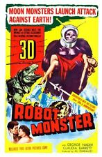 "Robot Monster Movie Poster Mini 11""X17"""
