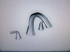 Moen Felicity Chrome High Arc Roman Tub Faucet Filler TS243