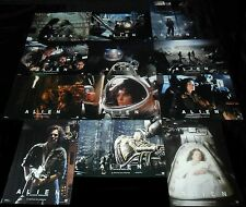 1979 Alien ORIGINAL SPAIN LOBBY CARD SET Ridley Scott Sigourney Weaver