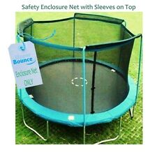 Upper Bounce 14 Trampoline Enclosure Safety Net Fits For 14 FT. Round Frames NEW