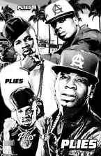 "PLIES  11x17  ""Black Light"" Poster"