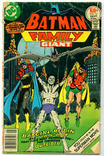 •.•  BATMAN FAMILY • Issue 13 • Giant • DC Comics