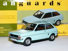 Vanguards VA12500 1980 Ford Fiesta MkI 1.1L Nordic Blue LTD ED 1/43