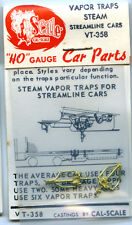 Original Cal-Scale HO VT-358 Vapor Traps Steam - NOS