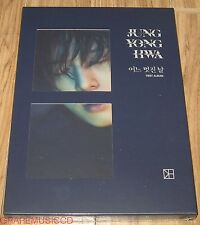 JUNG YONG HWA CNBLUE 1ST ALBUM B VERSION CD + PHOTOCARD + POSTER IN TUBE CASE