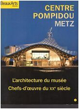 BEAUX ARTS CENTRE POMPIDOU METZ + PARIS POSTER GUIDE