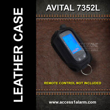 Avital 7352L 2-Way LCD Leather Remote Control CASE for Avital 5303L and 3300L
