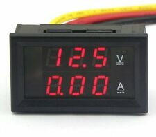 Drok ® Digital voltmetro amperometro Tensione Corrente Meter DC 4.5-30V / 10A 12V / 24V
