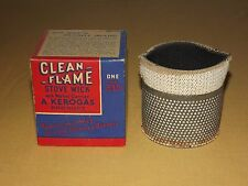 VINTAGE OLD CHIMNEY BURNERS KEROGAS CLEAN FLAME STOVE WICK  230 NOS NEW IN BOX