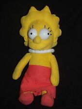 Nanco 20th Century Fox The Simpsons Lisa Simpson Girl Doll Plush 15""