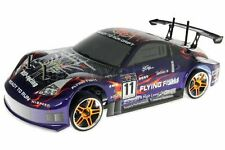 12309 CARROZZERIA STRADALE DRIFT 1:10 ADESIVI ALETTONE ON ROAD BODY PVC HIMOTO