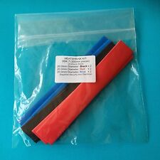 Heat Shrink Tubing 20.0 mm 3 Colours Heat Shrink Sleeve Wrap Tube Kit - HSK 7