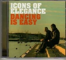 (BL963) Icons Of Elegance, Dancing Is Easy - 2010 CD
