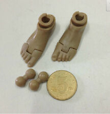 1/6 Soldier accessories bare feet   connector for HT DAM TC figure body